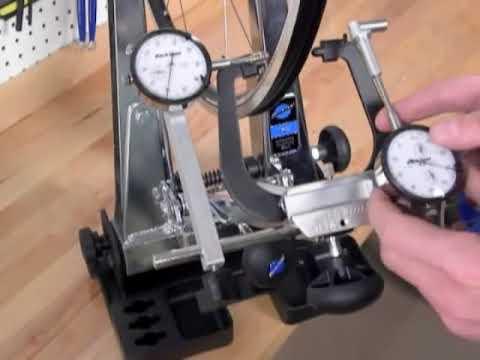 Park Tool TS-2Di Dial Indicator Gauge Set fits TS-2.2 Bike Wheel Truing Stand