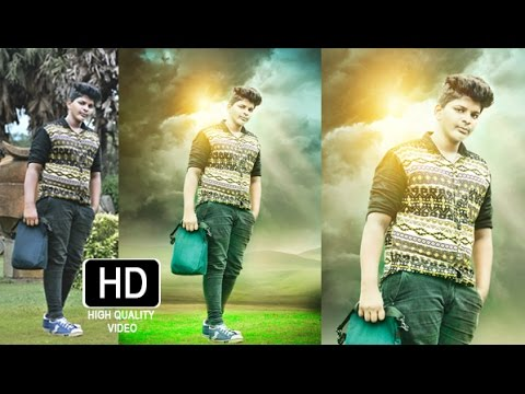 Photo Editing In Photoshop HD YouTube