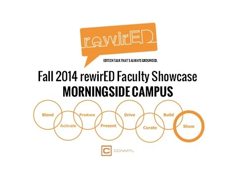 EVENT | RewirED at Morningside: Faculty Showcase, December 5, 2014