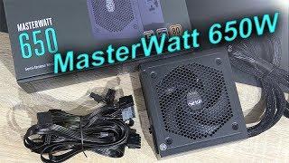 cooler Master MasterWatt 650W -- Great Semi-Passive Budget PSU!