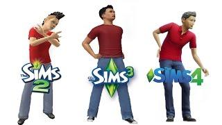 ♦ Sims 2 vs Sims 3 vs Sims 4 : Life (Part 3)