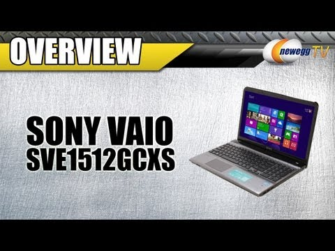 Newegg TV: SONY VAIO SVE1512GCXS Intel Core i5 Notebook Overview