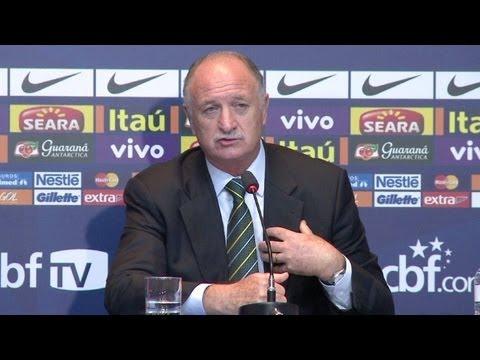 Felipão não convoca Ronaldo nem Kaká