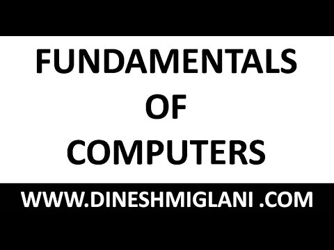 FUNDAMENTAL OF COMPUTERS : COMPUTER AWARENESS FOR IBPS PO CLERICAL SO