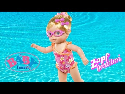Baby Born Mummy I Can Swim Doll Baby Born Doll Reall Swims In The