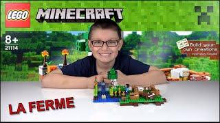 [LEGO MINECRAFT] LA FERME 21114 - Family Geek Unboxing Jouet Lego