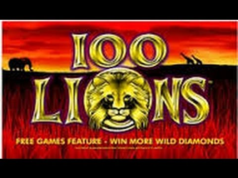 100 Lions Slot Machine Bonus - YouTube