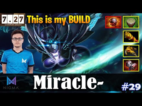 Miracle - Phantom Assassin Safelane   This is my BUILD with Resolut1on   Dota 2 Pro MMR Gameplay #29