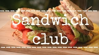Sandwich club - Rezetas de Carmen