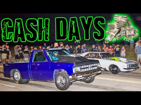 Street Outlaws CASH DAYS 2016 – Back to the STREETS!