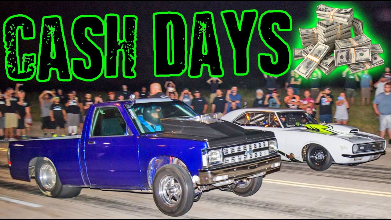 Street Outlaws CASH DAYS 2016 - Back to the STREETS! - YouTube