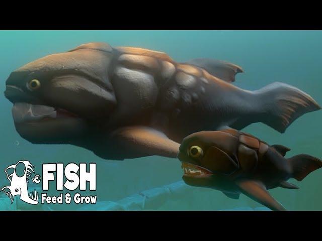 Feed and Grow: Fish SURVIVAL Great Map - Browurag, EL LEVIAT�N DUNKLEOSTEUS CON FALTA DE ORTODONCIA!