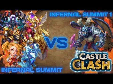 Eternity Team Clash - Infernal Summit 1 | TEAM HERE BE MONSTER (THBM) | CASTLE CLASH
