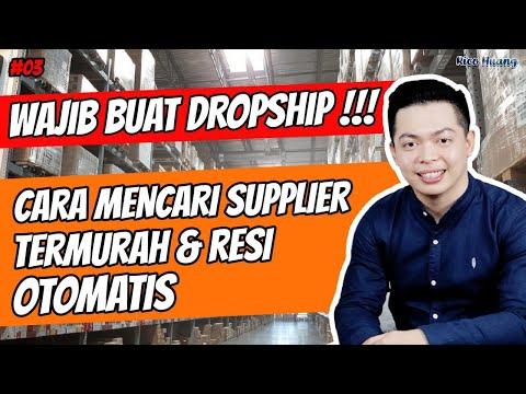Wajib Buat Dropship‼️ Cara Mencari Supplier Termurah & Resi Otomatis