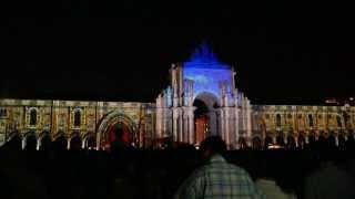 Arco de Luz  - Light show in Praça do Comércio