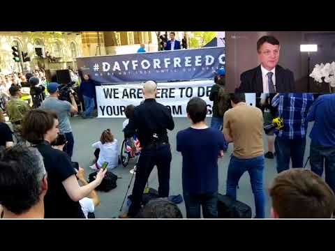 Gerard Batten 6 th May Whitehall  (Please subscribe)