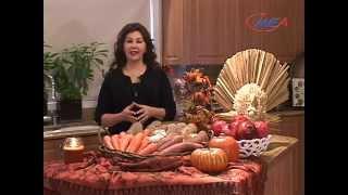 Samira's Kitchen Episode #52 - Thanksgiving Recipes ديك رومي مشوي وصفات عيد الشكر