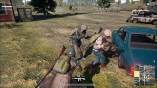 Players unknown battleground - (3 players Team) WIN 8 KILLS.