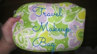 WHATS IN MY TRAVEL MAKEUP BAG!?!? Thumbnail