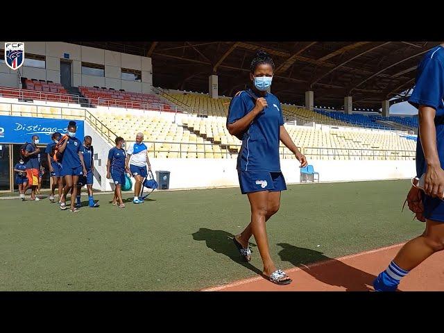 Seleção feminina realiza ultimo treino antes de viajar para Senegal