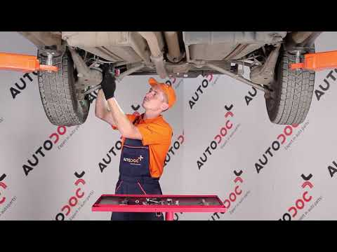 How to replace rear Anti Roll Bar Link on TOYOTA RAV4 TUTORIAL | AUTODOC