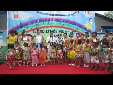 Tiết mục biểu diễn thời trang tự chế - bảo vệ môi trường (p2) - Trường MNTT