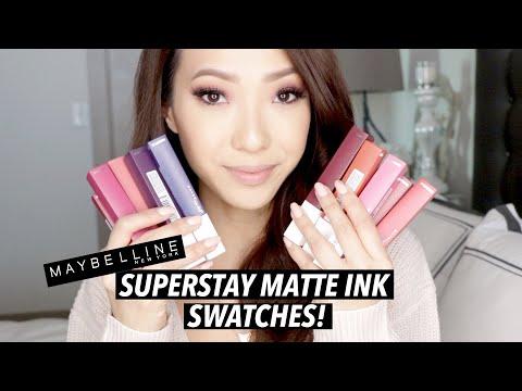 new-maybelline-superstay-matte-ink-liquid-lipstick-swatches!