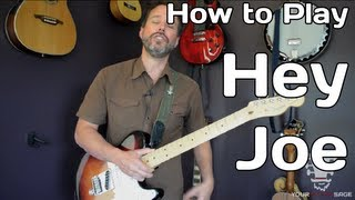 How To Play Hey Joe By Jimi Hendrix - Guitar Lesson