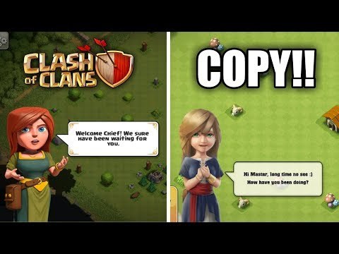 EXACT COPY OF COC | BIGGEST CLASH OF CLANS RIP-OFF EVER