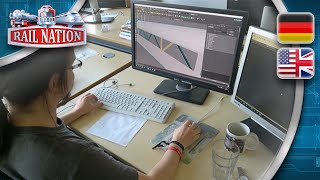 Rail Nation | News - Ein Blick ins 3D-Büro | Sneak peek into the 3D department