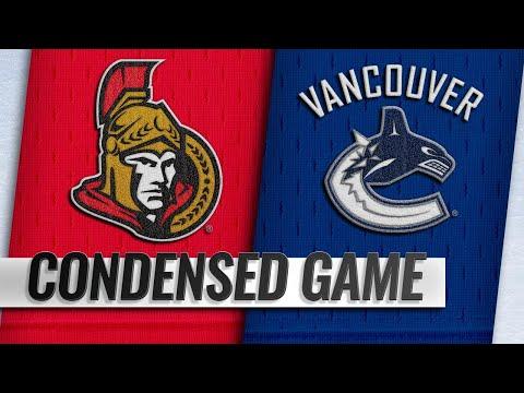 03/20/19 Condensed Game: Senators @ Canucks