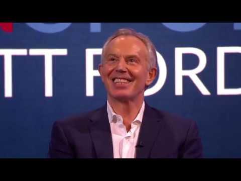 Christmas with Tony Blair
