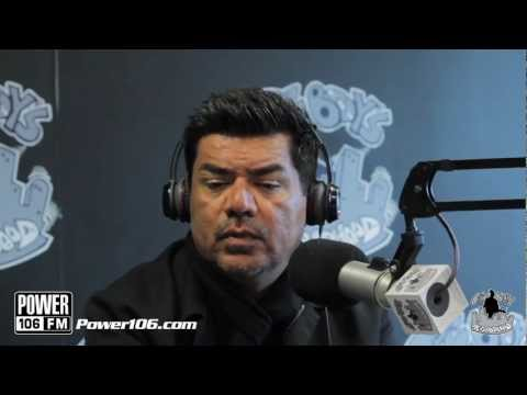 George Lopez talks about falling in his house