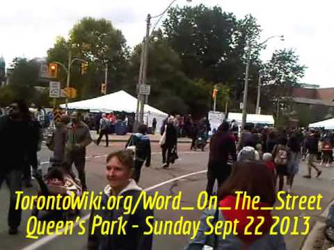 HiMY SYeD - Word On The Street Toronto, Queen's Park Toronto Ontario Canada Sunday September 22 2013
