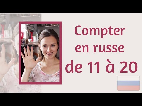 Apprendre les nombres de 11 à 20 en russe utilisé dans la page Apprendre les nombres de 11 à 20 en russe