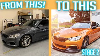 BUILDING A 435I BMW IN 9 MINUTES!