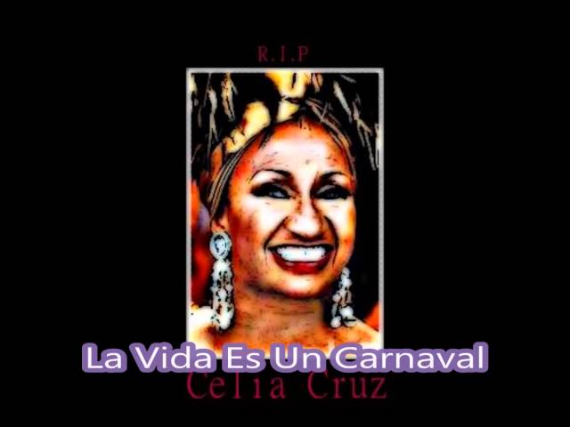 Tribute To Celia Cruz