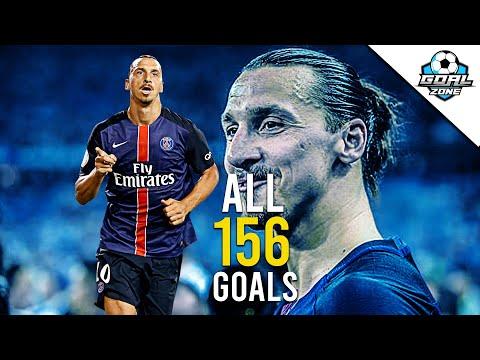 Zlatan Ibrahimovic - All 156 Goals for PSG