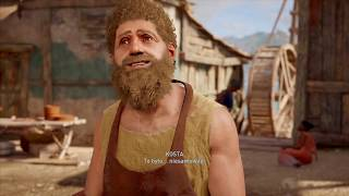 """Assassin's Creed Odyssey / Gay Sex Scene with """"Daddy"""" Kosta"""