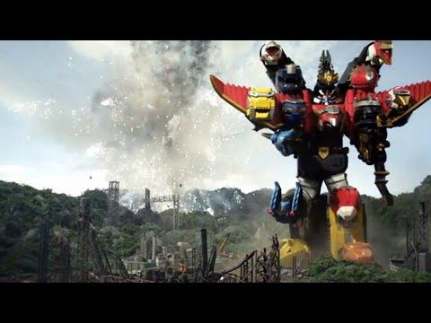 Sentai Goseiger y Shinkenger team-up - Batalla Megazord |Pelicula: Sentai Goseiger vs Shinkenger [7]