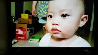 Synology DS916+ 即時轉碼4K影片到LG UH650T 4K電視瀏覽效果(小豆寶生活影片)