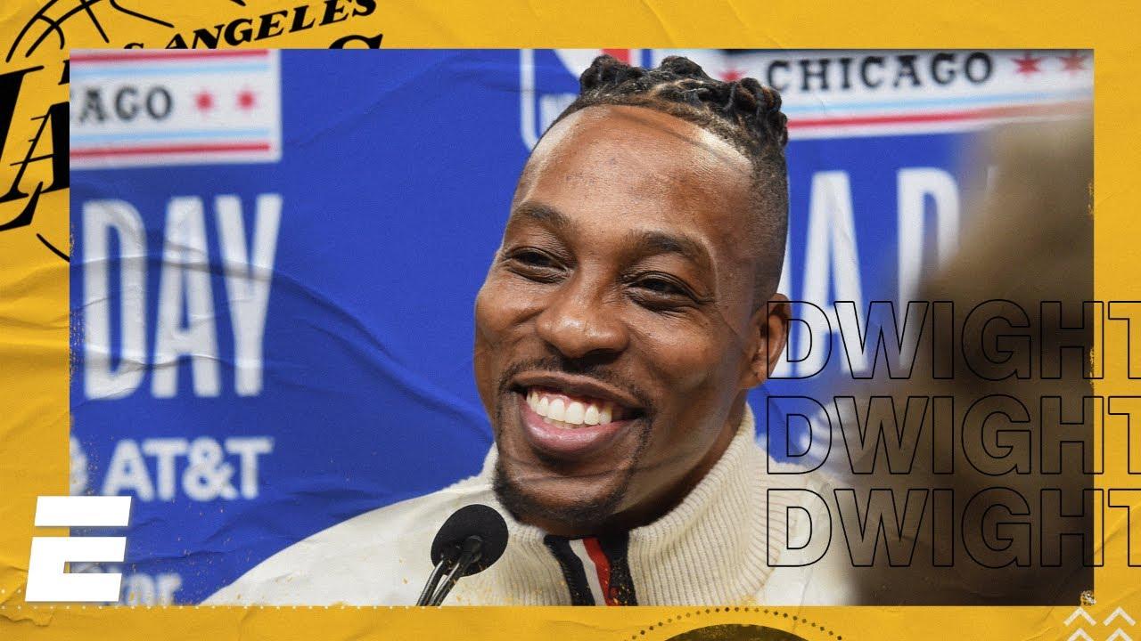 Dwight Howard: Kobe Bryant memories & dunk contest preparation | 2020 NBA All-Star Media Day