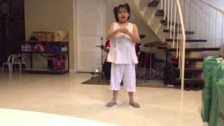 Megan sings Ako