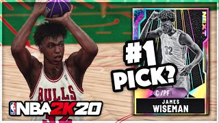 GALAXY OPAL JAMES WISEMAN GAMEPLAY!! This Potential #1 Pick Is A TOP 5 CENTER In NBA 2k20 MyTEAM!!