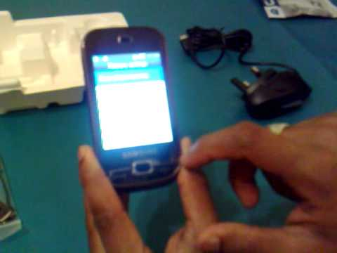 Samsung GT-B5722 Dual Sim Mobile Part 2 (Tutorial)