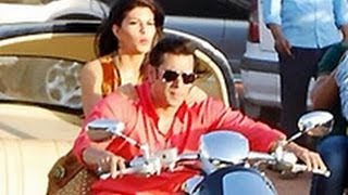 SPOTTED: Salman & Jacqueline on Bike Ride | Hindi Cinema Latest News | Kick | Shooting Spot