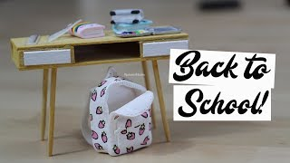 Back To School miniature⎪Fimo