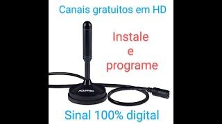 Como instalar a antena digital na sua TV e programar