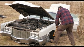 ABANDONED Cadillac DeVille will it run after 20 years and DRIVE HOME? - Vice Grip Garage EP70
