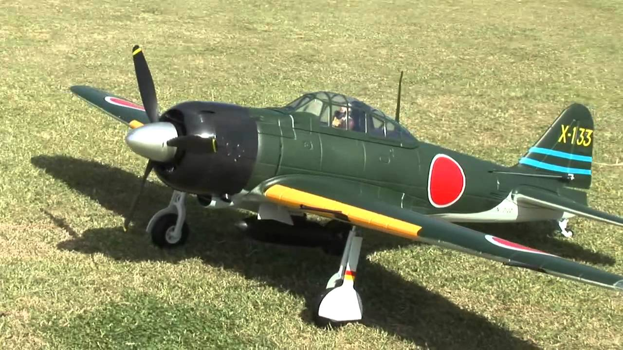 RC Plane - Mitsubishi A6M Zero - Best Videos and Retailers
